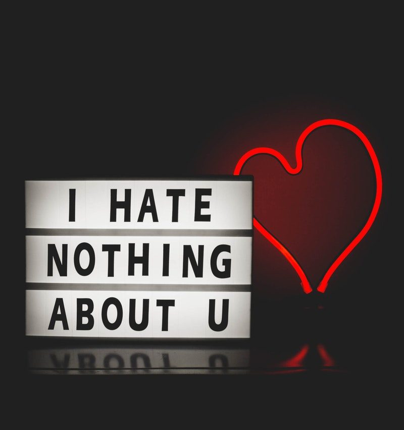 i don't hate you, i love you