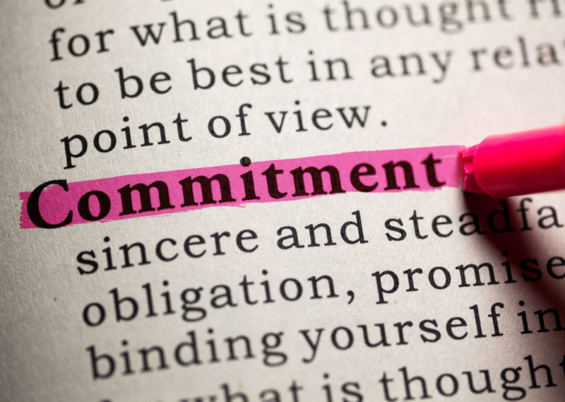 it's okay to Commit in polyamorous relationships